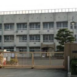 深井西小学校 / ( 周辺 )